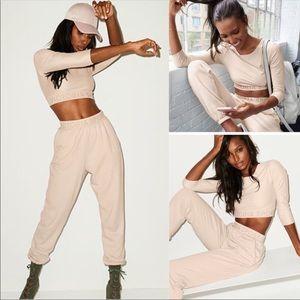 Victoria's Secret sport crop top & jogger bottom